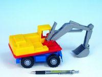 Auto bagr plast 27cm od 24 měsíců Lena