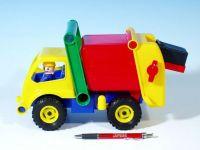 Auto popeláři aktivní plast 29cm od 24 měsíců