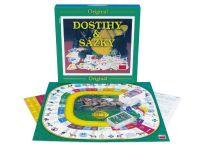 Dostihy a sázky velké společenská hra v krabici Dino