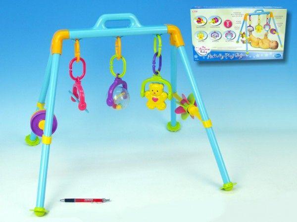 Hrazda pro děti plast, od 6 měsíců, pro nejmenší, hrazda, hrazdička, atestovaná hračka, oro nejmenší , kolotoče a hrazdičky Teddies