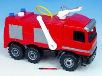 Mercedes auto hasiči plast 60cm nosnost 50kg v krabici