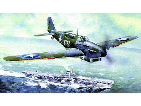 Model Fairey Fulmar MK.I/MK.II 17x19,6cm v krabici 25x14,5x4,5cm Směr