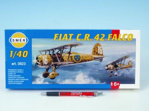 Model Fiat C.R. 42 FALCO 20,9x24,1cm v krabici 31x13,5x3,5cm Směr