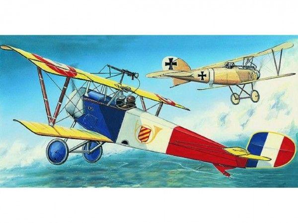 Model Nieuport 11/16 Bebe 12,9x16,2cm v krabici 31x13,5x3,5cm Směr
