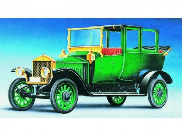 Model Olditimer Rolls Royce Silver Ghos 1911 15,2x5,6cm v krabici 25x14,5x4,5cm Směr