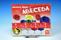 Mozaika Maxi/3 Abeceda 110ks v krabici 35x29x7,5cm