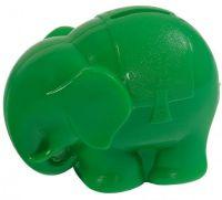 Pokladnička Slon plast 13cm asst 2 barvy od 12 měsíců Směr