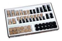 Šachy+dáma dřevo společenská hra v krabici 42x26,5x4cm Detoa