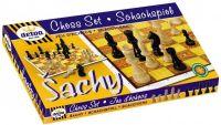 Šachy Detoa, dřevěné šachy, soilečenské hry, deskové hry, český výrobek