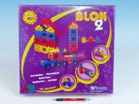 Stavebnice Blok 2 plast 146ks v krabici 35x33x8cm