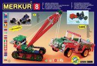 Stavebnice MERKUR 8 130 modelů 1405ks 5 vrstev v krabici 54x36,5x8,5cm Merkur Toys