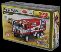 Stavebnice Monti 10 Rallye Dakar Tatra 815 1:48 v krabici 22x15x6cm Vista
