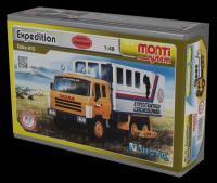 Stavebnice Monti 12 Expedice Tatra 815 1:48 v krabici 22x15x6cm Vista