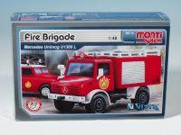 Stavebnice Monti 16 Fire Brigade Mercedes Unimog 1:48 v krabici 22x15x6cm SEVA
