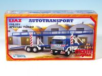 Stavebnice Monti 19 Autotransport Liaz 1:48 v krabici 31,5x16,5x7,5cm Beneš a Lát