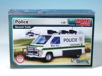 Stavebnice Monti 27 Policie Renault Trafic 1:35 v krabici 22x15x6cm Vista
