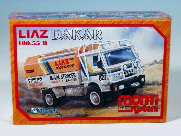 Stavebnice Monti 7 Rallye Dakar Liaz 1:48 v krabici 22x15x6cm Vista