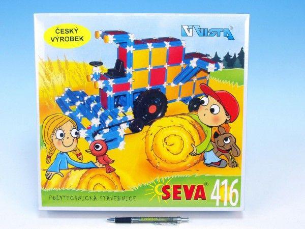 Stavebnice Seva plast 416ks v krabici 35x33x8cm Beneš a Lát