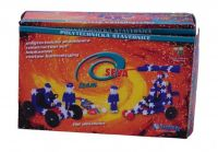 Stavebnice Seva Team plast 196ks v krabici 22x15x6cm Vista