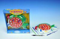 Hra Ryby/Rybář společenská hra 24x23cm na baterie se zvukem v krabici