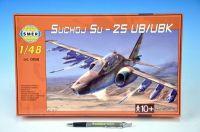 Model Suchoj SU-25 UB/UBK v krabici