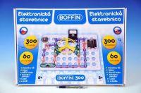 Stavebnice Boffin 300 elektronická 300 projektů na baterie 60ks v krabici