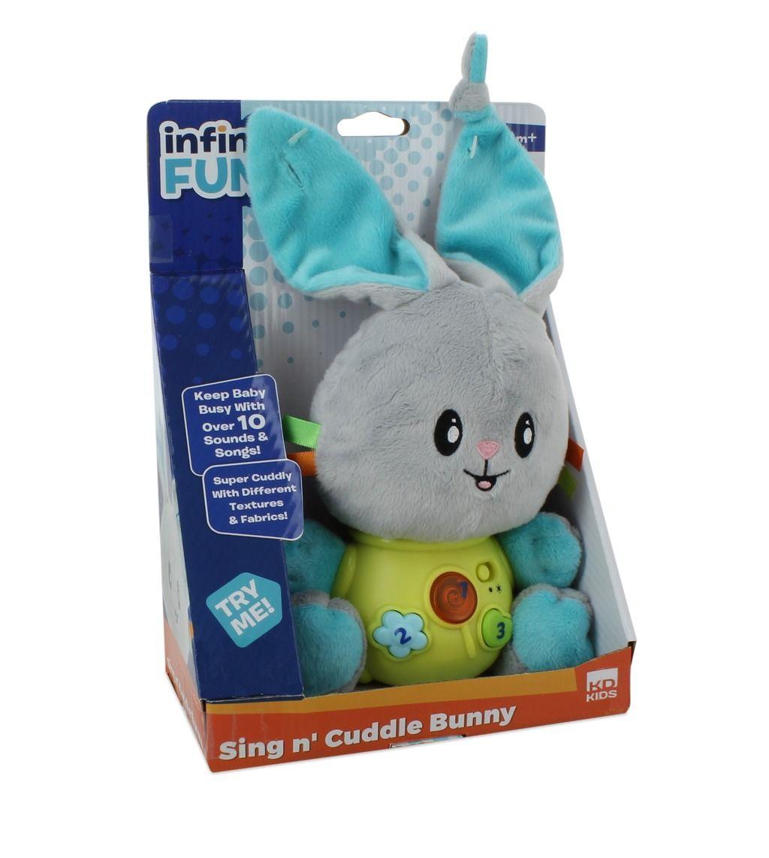 Plyšový králíček se zvuky hračka zvuková Alltoys