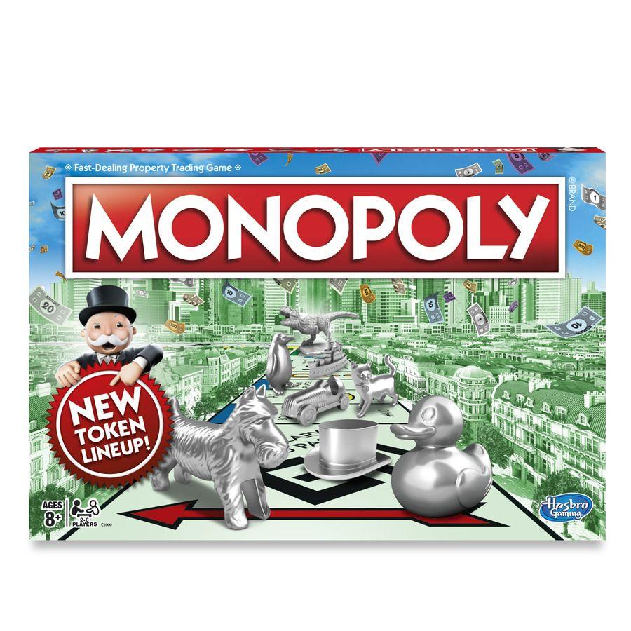Monopoly nové společenské hry stolní hry rodinná hra Monopoly Hasbro