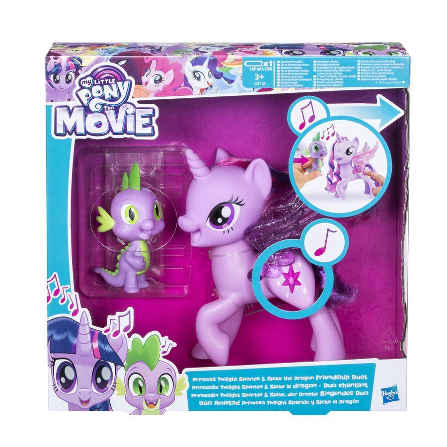 My Little Pony Hrací set se zpívající Twilight Sparkle a Spi Hasbro