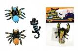 Pavouk sliz 6cm asst 4 druhy 36ks v boxu