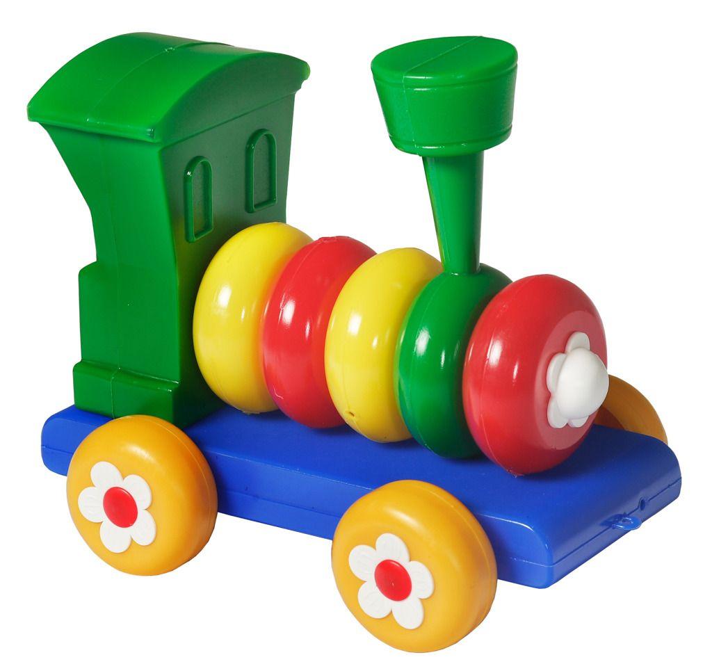 Lokomotiva skládací pro nejmenší děti Směr