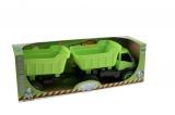 Auto Activ s přívěsem na gumových kolečkách Mochtoys