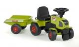 Odstrkovadlo - traktor Claas s volantem a valníkem