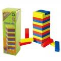 Jenga věž dřevěná - barevná