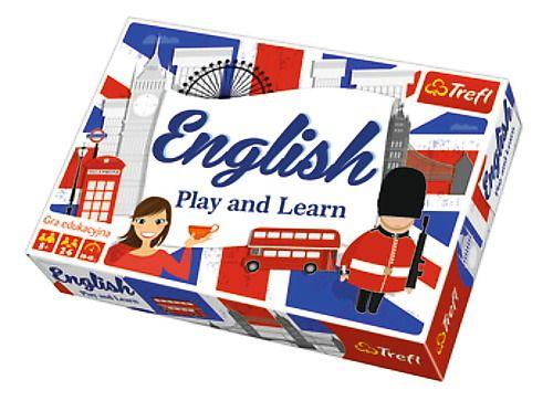 Hra English play and learn Trefl