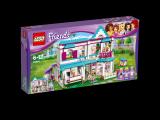 LEGO 41314 Friends Stephanie a její dům