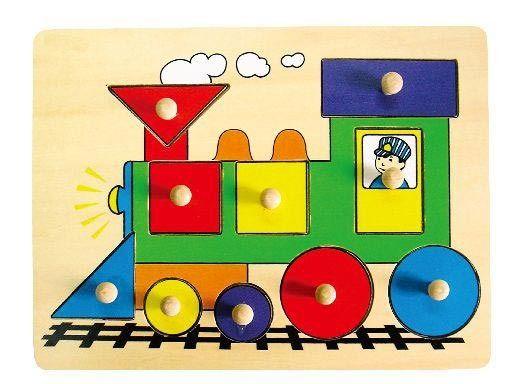 Vkládačka - lokomotiva HM STUDIO