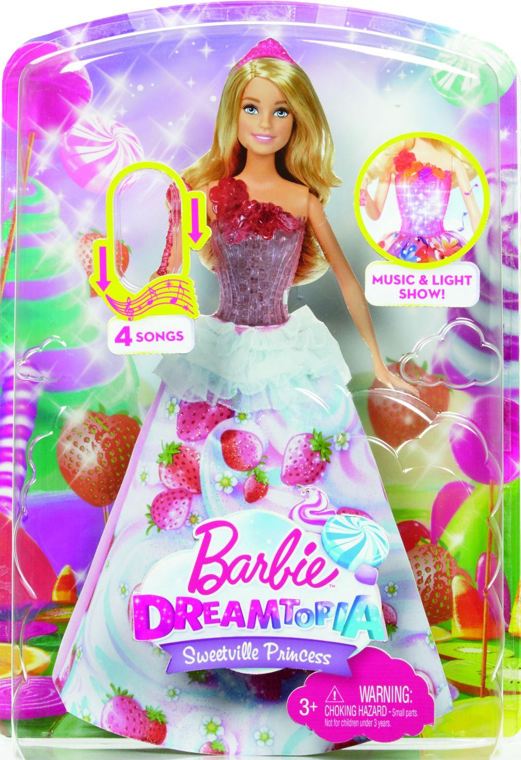 Barbie jahůdková princezna panenka Barbie Mattel