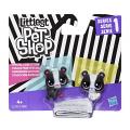 Littlest Pet Shop Černobílý set - 2 ks zvířátek