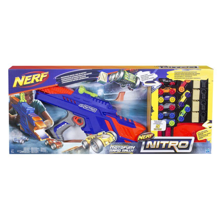 NERF Nitro MotoFury Rapid Rally + 9 aut Hasbro