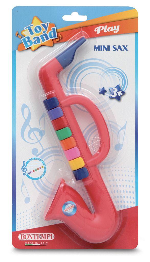 Saxofon 8 klapek dětský Bontempi