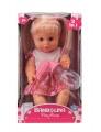 Panenka Bambolina s hřebínkem a kojeneckou lahvičkou 30 cm