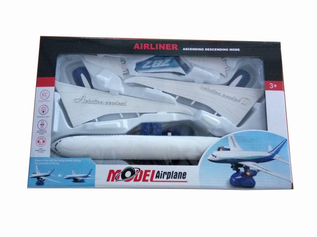 Skládací letadlo s funkcí simulovaného vzletu Alltoys