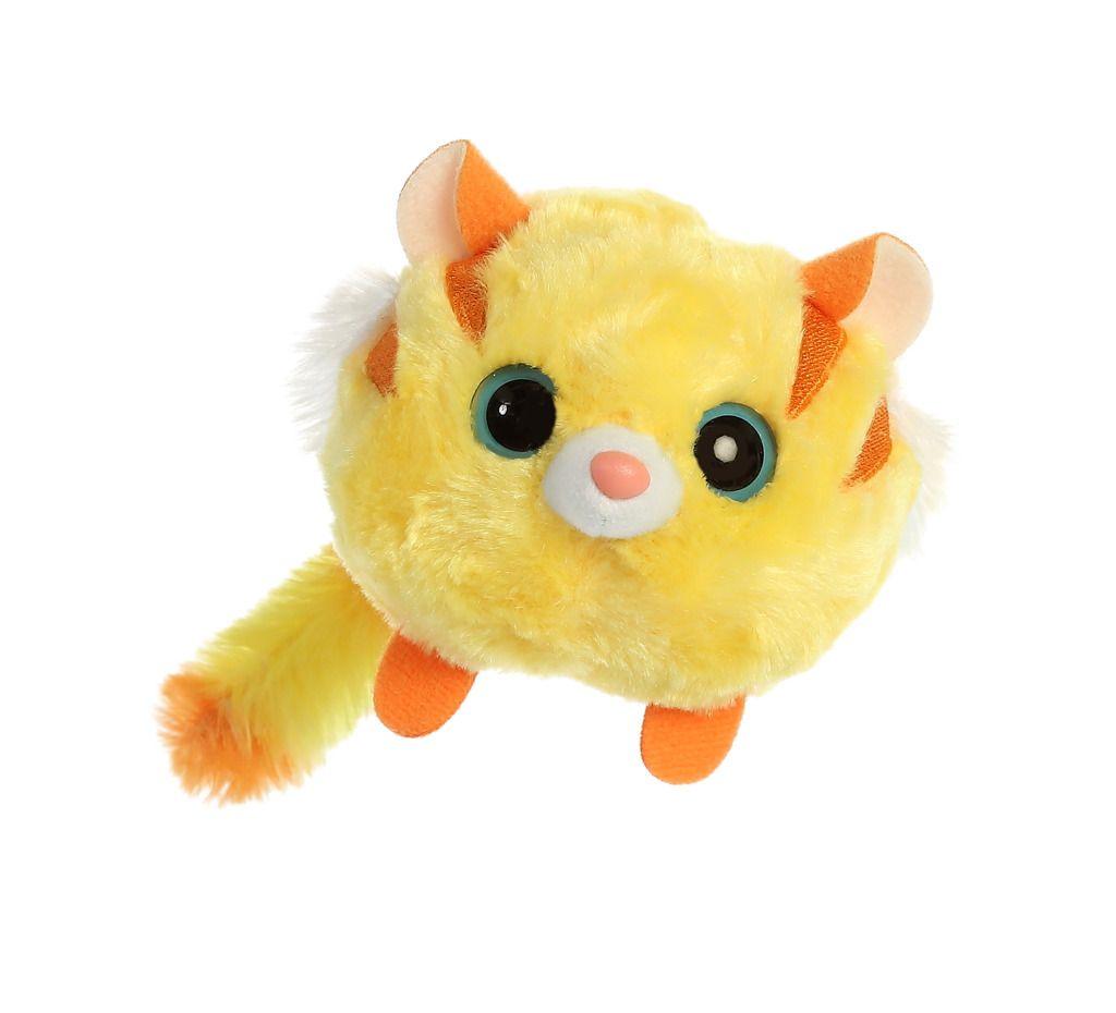 Yoo Hoo žlutý tygr zakulacený 9 cm
