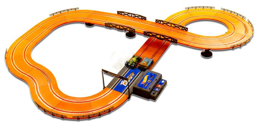 Závodní dráha Hot Wheels 380 cm s adaptérem. Alltoys
