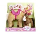 BABY born® Interaktivní kůň s hříbátkem