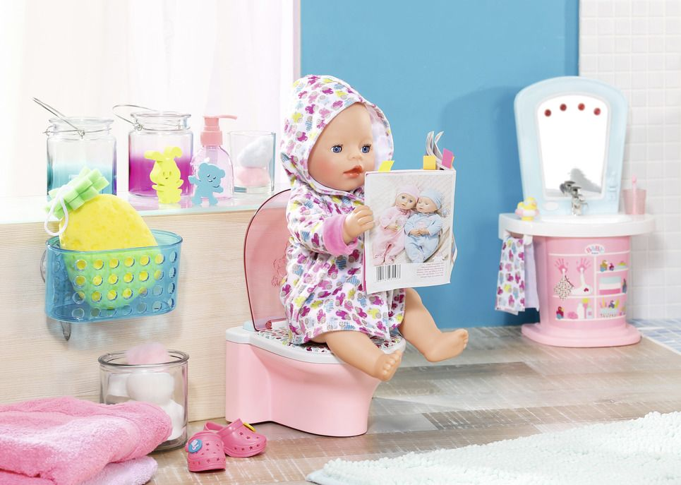 BABY born® Zábavná toaleta Zapf Creation