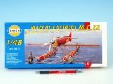 Model Macchi Castoldi M.C.72 1:48 17,5x19cm v krabici 31x13,5x3,5cm