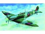 Model Supermarine Spitfire H.F.MK.VI 12,9x17,2cm v krabici 25x14,5x4,5cm Směr