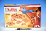Stavebnice Teifoc Cihličky 100ks v krabici 29x18x8cm